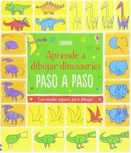 Libros de dinosaurios para niños y adultos | Aprende a dibujar dinosaurios paso a paso | +8 años | 96 páginas