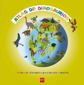 Libros de dinosaurios para niños y adultos | Atlas de dinosaurios | +5 años | 32 páginas
