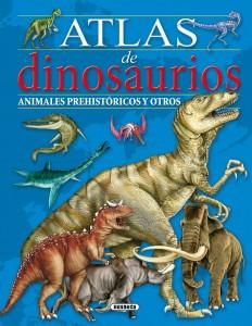 Libros de dinosaurios para niños y adultos | Atlas de dinosaurios. Animales prehistóricos y otros | +6 años | 48 páginas