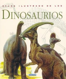 Libros de dinosaurios para niños y adultos | Atlas ilustrado de los dinosaurios | Adultos | 208 páginas