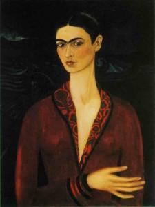 Autorretrato con traje de terciopelo | 1926