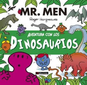 Libros de dinosaurios para niños y adultos | Aventura con los dinosaurios (Mr. Men & Little Miss) | +4 años | 32 páginas