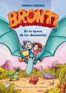 Libros de dinosaurios para niños y adultos | Bronti. En la época de los dinosaurios | +6 años | 80 páginas