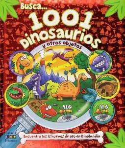 Libros de dinosaurios para niños y adultos | Busca 1001 dinosaurios y otros objetos | +6 años | 24 páginas