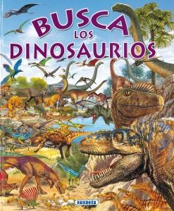 Libros de dinosaurios para niños y adultos | Busca los dinosaurios | +6 años | 32 páginas