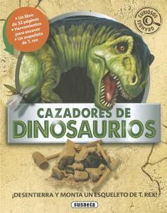 Libros de dinosaurios para niños y adultos | Cazadores de dinosaurios | +7 años | 32 páginas