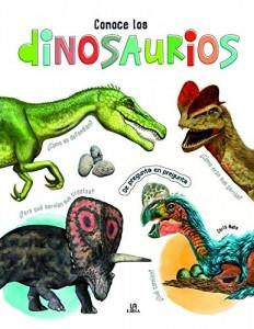 Libros de dinosaurios para niños y adultos | Conoce los dinosaurios. De pregunta en pregunta | +6 años | 48 páginas