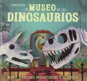 Libros de dinosaurios para niños y adultos | Construye tu museo de los dinosaurios | +10 años | 24 páginas