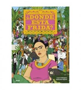 Libros sobre Frida Kahlo para niños | ¿Dónde está Frida? | +6 años