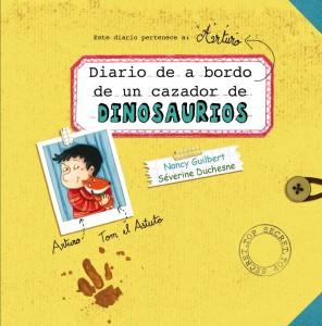 Libros de dinosaurios para niños y adultos | Diario de a bordo de un cazador de dinosaurios | +5 años | 40 páginas