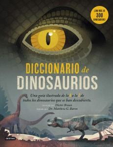 Libros de dinosaurios para niños y adultos | Diccionario de Dinosaurios | +7 años | 192 páginas