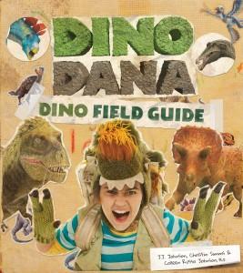 Libros de dinosaurios para niños y adultos | Dino Dana: Dino Field Guide (Guía de campo de dinosaurios) | +8 años | 230 páginas | Libro en inglés