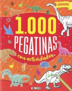 Libros de dinosaurios para niños y adultos | Dinosaurios 1.000 pegatinas con actividades | +6 años | 48 páginas