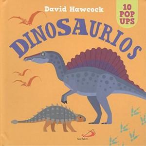 Libros de dinosaurios para niños y adultos | Dinosaurios: 10 pop ups | +3 años | 22 páginas