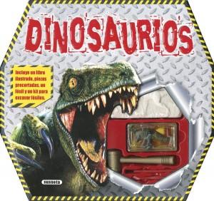 Libros de dinosaurios para niños y adultos | Dinosaurios (Caja sorpresa) | +6 años | 24 páginas