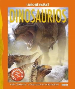 Libros de dinosaurios para niños y adultos | Dinosaurios (Libro de fichas) | A partir de 8 años | 80 páginas
