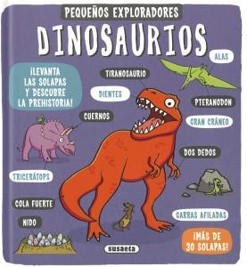 Libros de dinosaurios para niños y adultos | Dinosaurios (Pequeños exploradores) | +6 años | 16 páginas