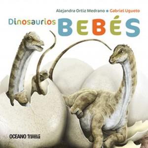 Libros de dinosaurios para niños y adultos | Dinosaurios bebes | +3 años | 12 páginas