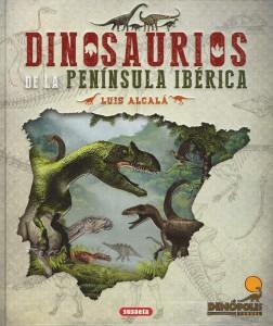Libros de dinosaurios para niños y adultos | Dinosaurios de la península ibérica | Adultos | 272 páginas