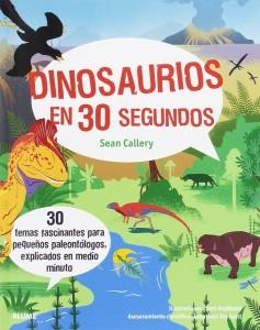 Libros de dinosaurios para niños y adultos | Dinosaurios en 30 segundos | +9 años | 96 páginas