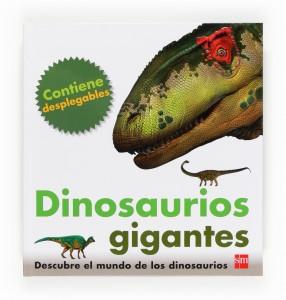 Libros de dinosaurios para niños y adultos | Dinosaurios gigantes | +3 años | 16 páginas
