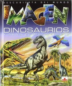 Libros de dinosaurios para niños y adultos | Dinosaurios y animales desaparecidos | +8 años | 123 páginas