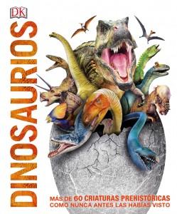 Libros de dinosaurios para niños y adultos | Dinosaurios. Más de 60 criaturas prehistóricas | +8 años | 208 páginas