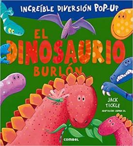 Libros de dinosaurios para niños y adultos | El dinosaurio burlón | +3 años | 14 páginas