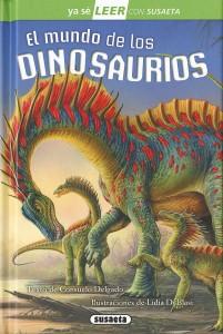 Libros de dinosaurios para niños y adultos | El mundo de los dinosaurios | +8 años | 48 páginas