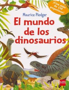 Libros de dinosaurios para niños y adultos | El mundo de los dinosaurios | +3 años | 48 páginas