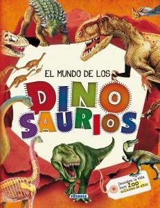 Libros de dinosaurios para niños y adultos | El mundo de los dinosaurios | +6 años | 120 páginas