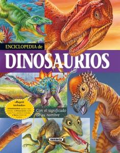 Libros de dinosaurios para niños y adultos | Enciclopedia de dinosaurios | +6 años | 176 páginas