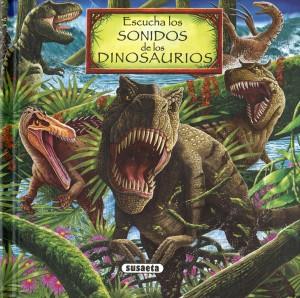 Libros de dinosaurios para niños y adultos | Escucha los sonidos de los dinosaurios | +7 años | 12 páginas