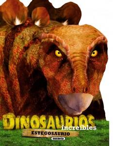 Libros de dinosaurios para niños y adultos | Estegosaurio | +4 años | 10 páginas