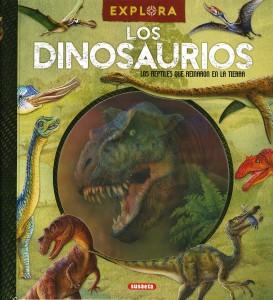 Libros de dinosaurios para niños y adultos | Explora los dinosaurios | +7 años | 48 páginas