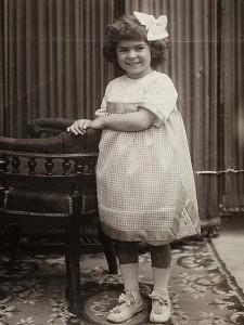 Frida Kahlo con 6 años de edad, México, 1913