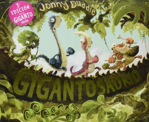 Libros de dinosaurios para niños y adultos | Gigantosaurio | +4 años | 40 páginas