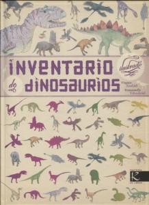 Libros de dinosaurios para niños y adultos | Inventario ilustrado de dinosaurios | +6 años | 72 páginas