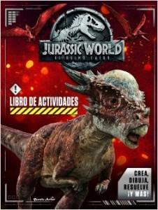 Libros de dinosaurios para niños y adultos | Jurassic World. El reino caído. Libro de actividades | +5 años | 32 páginas
