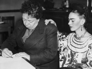 Kahlo y Rivera se casan por segunda vez en el Ayuntamiento de San Francisco (EE.UU.) el 8 de diciembre en 1940.