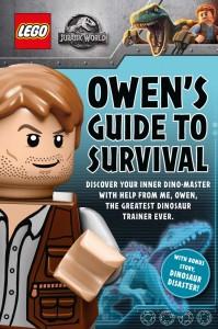 Libros de dinosaurios para niños y adultos | LEGO Jurassic World: Owen's Guide to Survival | +7 años | 128 páginas | Libro en inglés