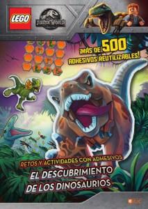 Libros de dinosaurios para niños y adultos | LEGO Jurassic World. El descubrimiento de los dinosaurios | +7 años