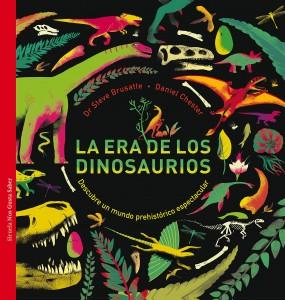 Libros de dinosaurios para niños y adultos | La era de los dinosaurios | +8 años | 80 páginas