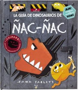 Libros de dinosaurios para niños y adultos | La guía de dinosaurios de Ñac-ñac | +3 años | 36 páginas
