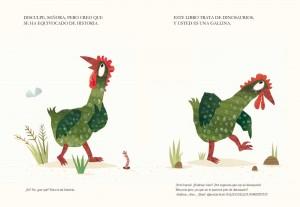 Libros de dinosaurios para niños y adultos | La verdad sobre los dinosaurios | +3 años | 32 páginas