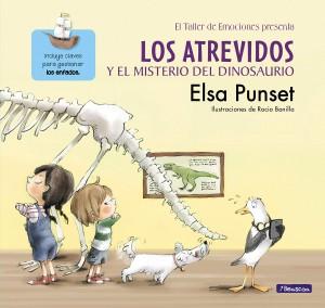 Libros de dinosaurios para niños y adultos | Los Atrevidos y el misterio del dinosaurio (El taller de emociones 4) | +4 años | 48 páginas