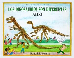 Libros de dinosaurios para niños y adultos | Los dinosaurios son diferentes | +5 años | 32 páginas