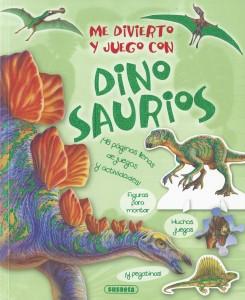 Libros de dinosaurios para niños y adultos | Me divierto y juego con dinosaurios | +6 años | 64 páginas