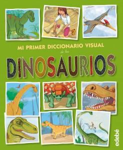 Libros de dinosaurios para niños y adultos | Mi primer diccionario visual de los dinosaurios | +3 años | 18 páginas