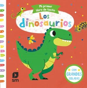Libros de dinosaurios para niños y adultos | Mi primer libro de tacto. Los dinosaurios | +1 año | 16 páginas